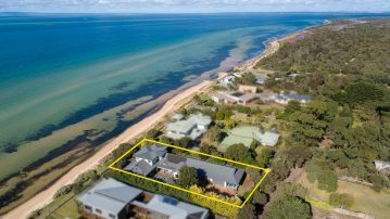 Aerial View - St Leonards Luxury Holiday Accomodation